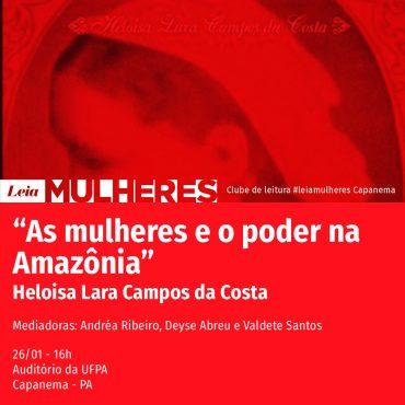 Leia Mulheres – Capanema